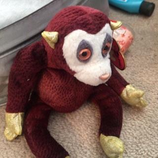 Cute Zodiac Monkey Beanie baby