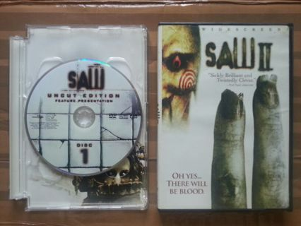 Saw ii unrated (dvd movie; 2-disc special edition) donnie.