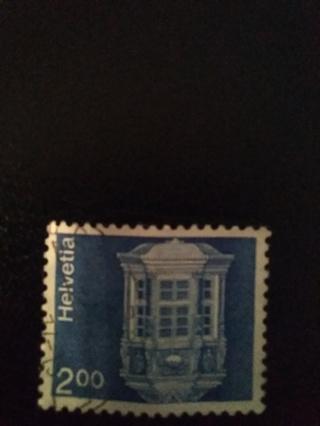 Helvetia Stamp