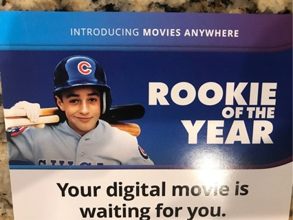 Rookie of the year digital code