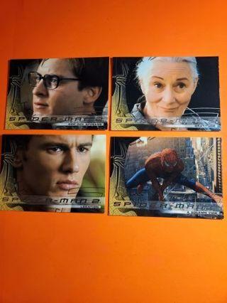 4 Spider-Man 2004 Cards!