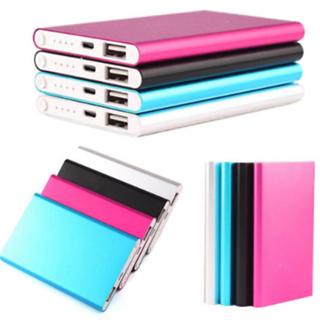 5000mAh External Power Bank Backup Battery Charger Case for Cell Phone