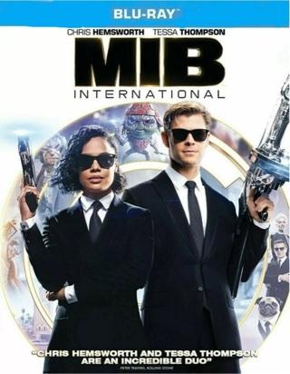 Men In Black International digital move code from Blu Ray