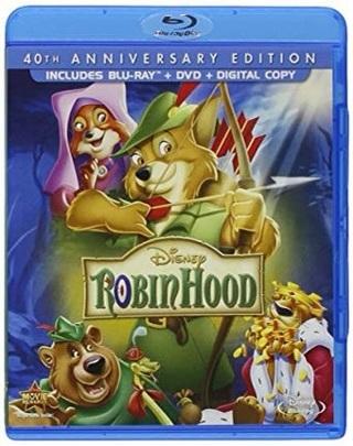Disney's Robin Hood 40th Anniversary Digital Code