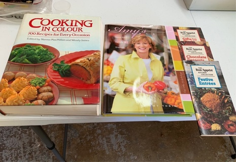 LOT OF 5 COOKBOOKS
