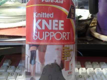 Pure-Aid Knitted Knee Support BNIP