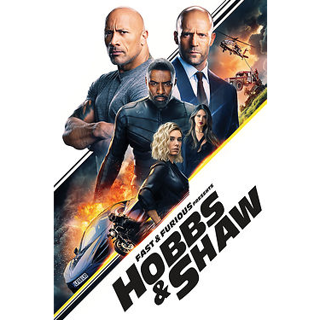 Hobbs & Shaw code (Movies Anywhere HD Digital Copy)