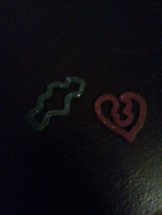 Cute *original* Silly Band Rings -Hearts-