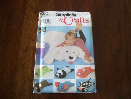 Free: Simplicity 8932 CRAFTS PATTERN CHILDS Floor Pillow Animals ...