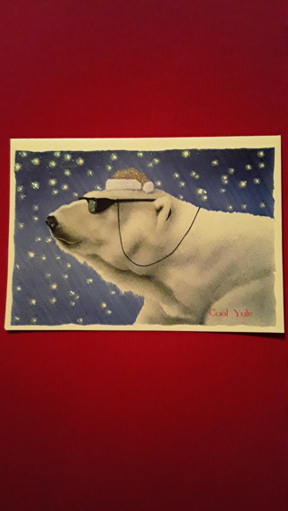Christmas Cards - Cool Yule Bear