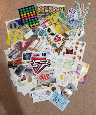 A Large Lot of Stickers
