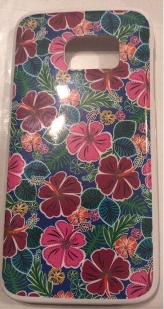"new flowery phone case{5 3/4""x 3""}"