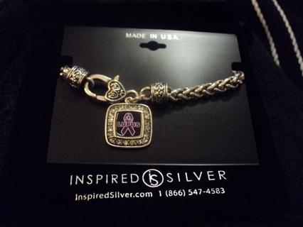 Free Lupus Awareness Bracelet