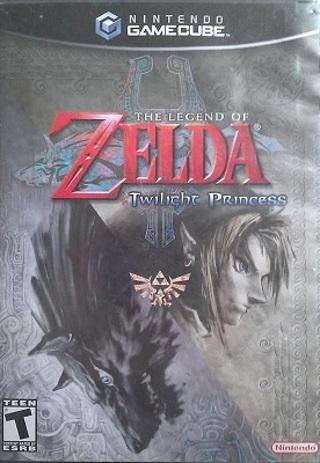 Zelda Twilight Princess Nintendo GameCube