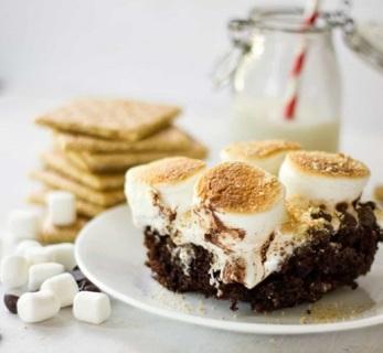 ☆(New) Homemade Fingerlickin' S'mores Cake Recipe ☆