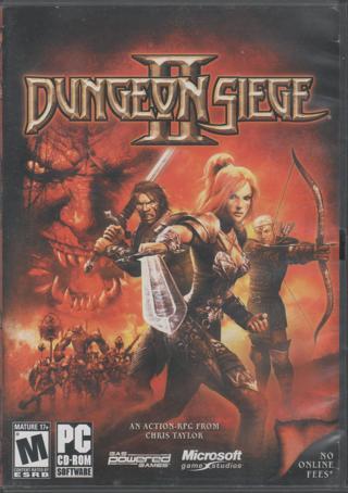 Dungeon Siege II Microsoft Game Studio