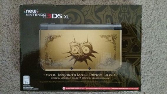 free rare new nintendo 3ds xl zelda majora s mask limited edition