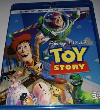 Toy Story Blu-Ray + 3D