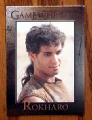 Game of Thrones card magnet - Rokharo