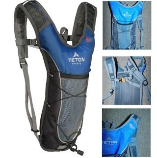 Teton TrailRunner 2.0 Hydration Pack-Camelback Hydration Hiking/ Ultra Runner MINT Blue-Gray