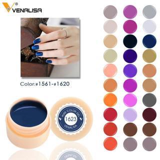 Venalisa LED Nail Drawing Gel 180 Colors Pure Gel Soak off Professional Nail Painting Gel lacquer