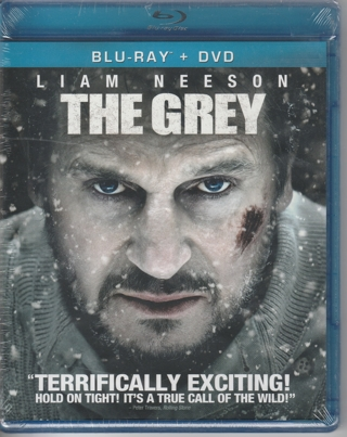 Blu-Ray + DVD The Grey Liam Neeson Brand New Still in Wrap! Bonus DVD included!