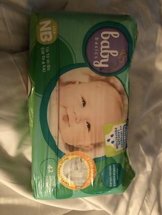 Nip newborn diapers 42 pack ultra absorbent