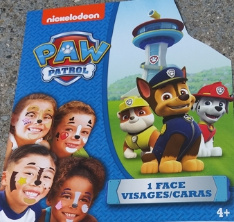 HALLOWEEN PAW PATROL FACE TATTOOS 2 SHEETS LOT 11