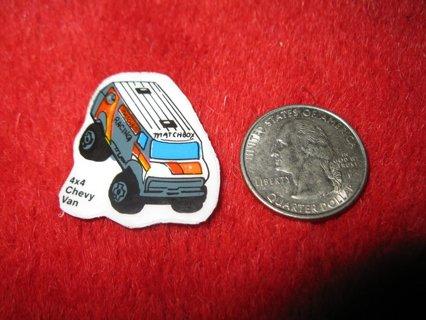 1980's Matchbox Off Road 4x4's Refrigerator Magnet: 4x4 Chevy Van