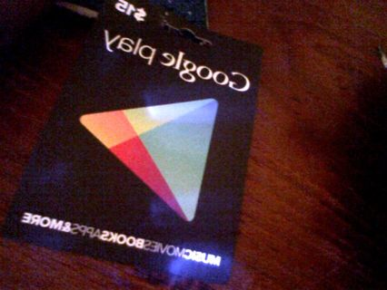 free google play 15 gift card gift cards listia com auctions