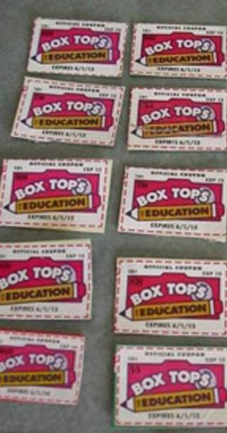Box Tops for Education~ 25