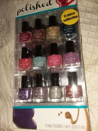 12 piece nail polish collection