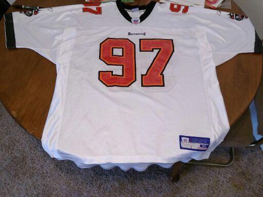 buy popular 70992 b6604 Free: Tampa Bay Buccaneers Jersey Collection - Warren Sapp ...