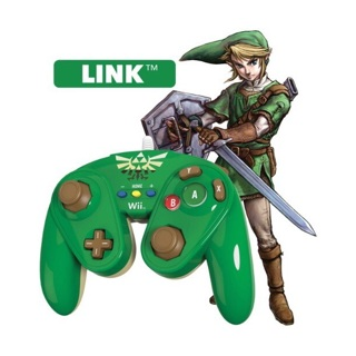 BRAND NEW Wii U Legend of Zelda, Link Wired Fight Pad