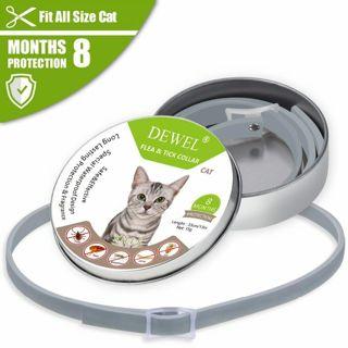Dewel Summer Anti-insect Cat Dog Collar Anti Flea Mosquitoes Ticks Waterproof