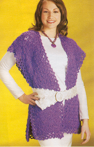Free Crochet Patterntasteful Tweed Ruanaeasy Crochet