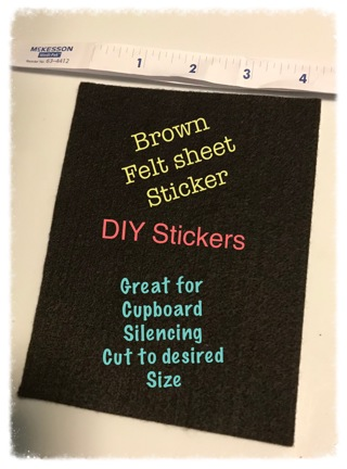 ★☆★ Felt Sheet w/Sticky Backing ★☆★