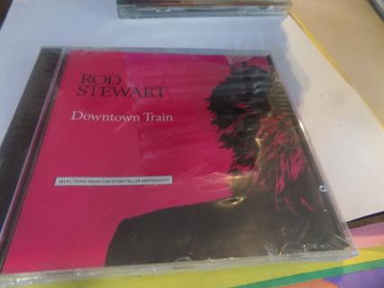 New Sealed Rod Stewart Downtown Train CD