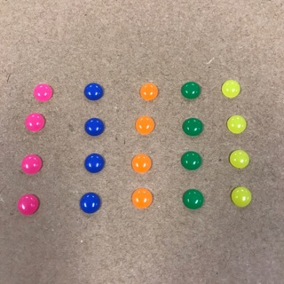 Scrapbook DIY enamel dots