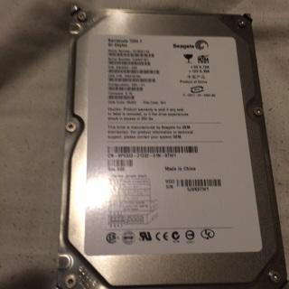 Seagate IDE hard drive No OS loaded