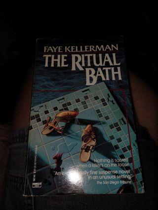 The Ritual Bath by Faye Kellerman (paperback)