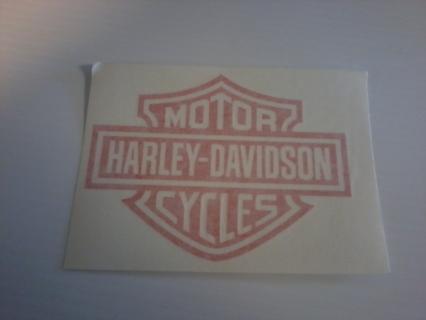 Set of 5 harley Davidson Vinyl stickers