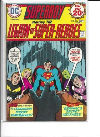 Superboy #204 DC Comics