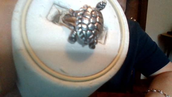turtles in 925 silver set earings bracelet and ring
