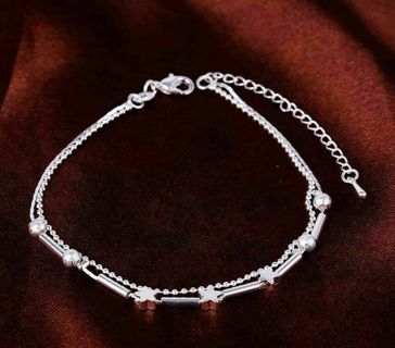 ✿Fast Delivery✿ 925 Sterling Silver Anklet x1pc