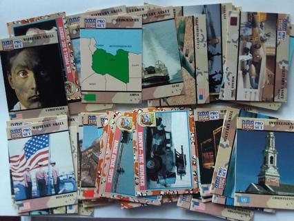 Lot of 50 Random Desert Storm Pro Set Trading Cards