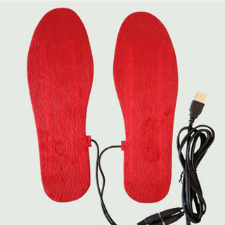 Heating Insoles Pad Shoe Rechargeable Electric Foot Warmer +USB Cable
