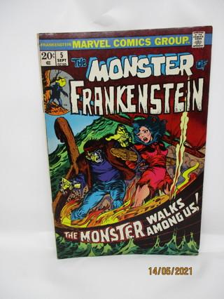 THe MONSTER OF FRANKENSTEIN #5