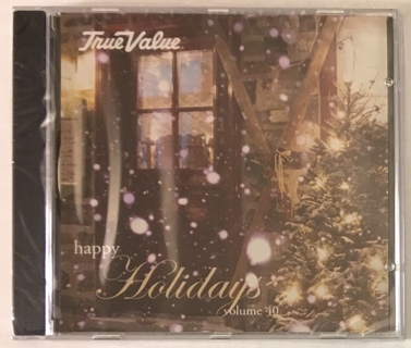 Christmas Music CD True Value Happy Holidays Vol. 40 - Bing Crosby / Dean Martin / Nat King Cole NEW