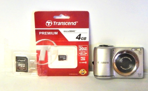 Canon PowerShot A810 16.0MP Digital Camera 5X OPTICAL ZOOM - FREE SHIPPING